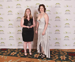 M.J. Yatsko of Ohio State University wins the Women in Engineering Award