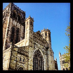 Durham Cathedral in the sun