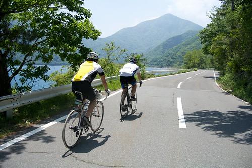 本栖湖サイクリング2