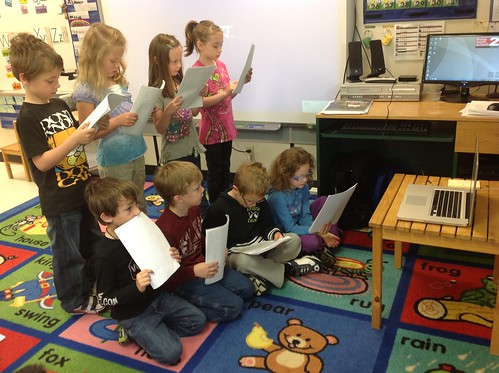 Reader's Theatre via Skype