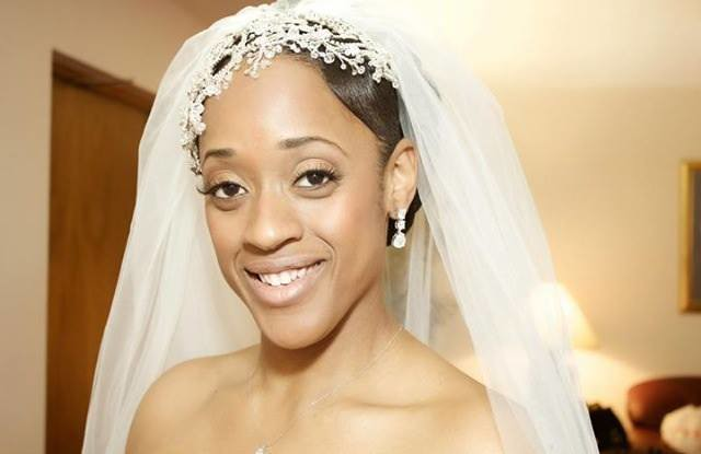 Joi wearing a dramatic crystal faceframer by Bridal Styles Boutique5