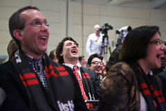 Trudeau leadership campaign 2013.