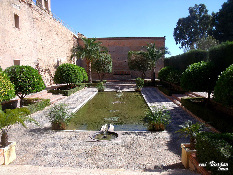 Almería, Interior Alcazaba