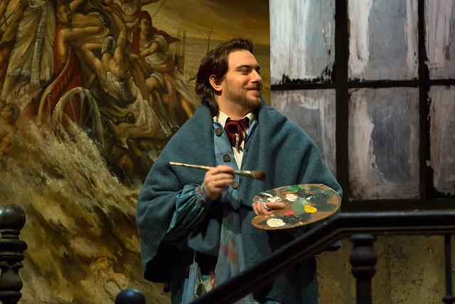 Gabriele Viviani in La bohème © ROH/Bill Cooper, 2013