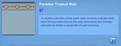 Paradise Tropical Wall