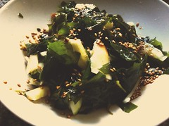 Wakame and Cucumber