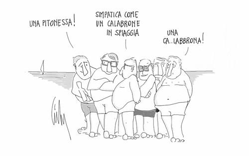 La Pitonessa by Livio Bonino