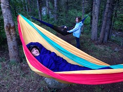 play, leisure, hammock,