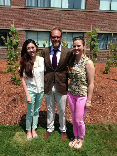 Our interns meet Alton Brown
