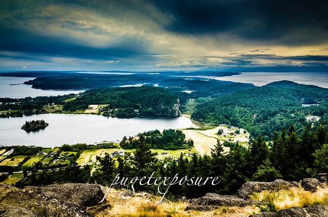 Mount Erie Overlook, Anactores Washington