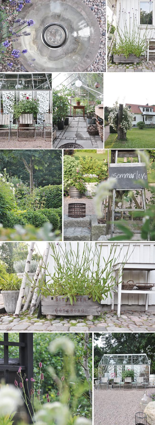 trädgårdscollage