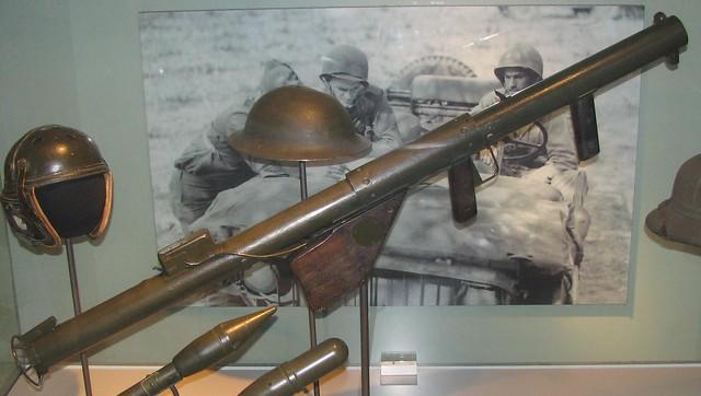 NMAH139 - WWII - American - M1 Bazooka - Anti-Tank Rocket Launcher - 1942