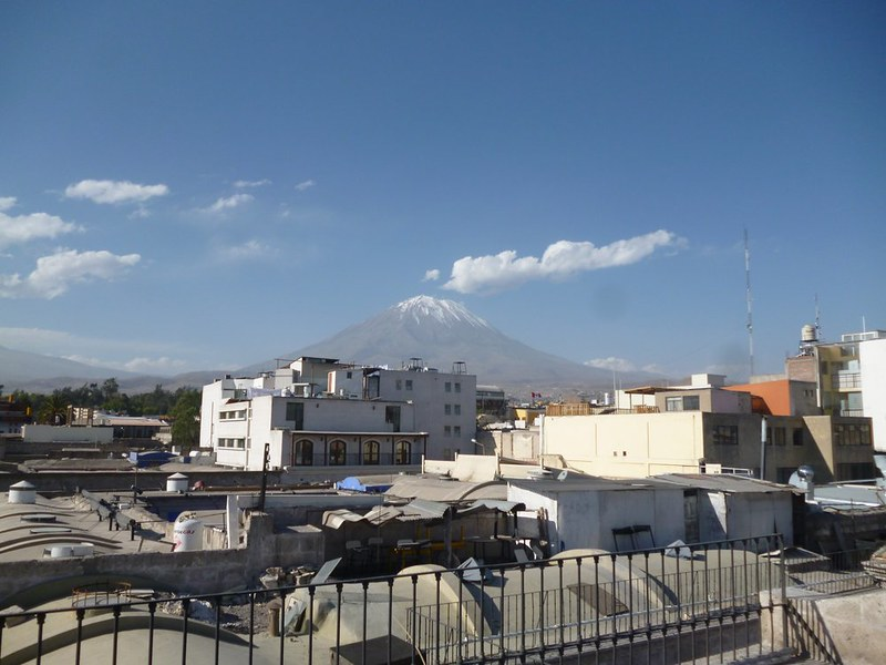 Arequipa is beautiful almost all the times.