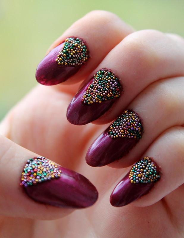 Caviar nail art (3)