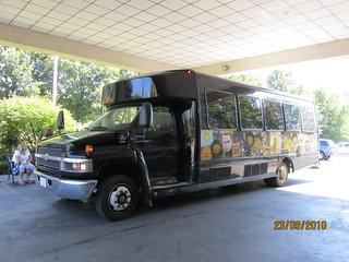 sun studio tour bus at the heartbreak hotel