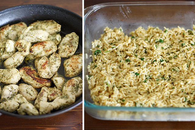 cilantro-lime chicken bake