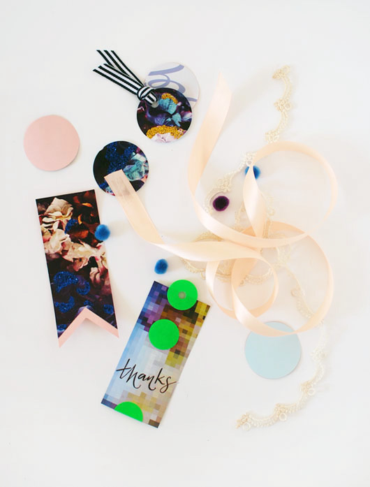 Make Me: Gift Tags From Magazine Pages