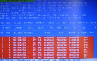 Memtest 86 RAM Diagnostics