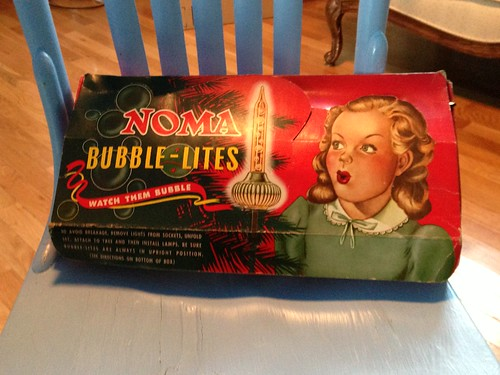 vintage bubble lights