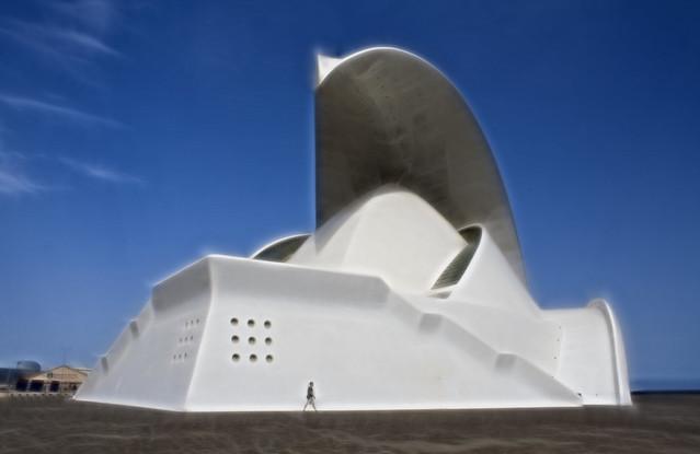 Auditorio de Tenerife version Fractalius