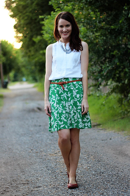 green-skirt,-white-tank-5