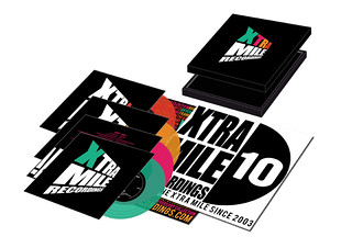 Xtra Mile Recordings Box set display
