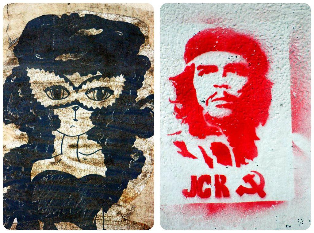 Street art in Rosario Argentina