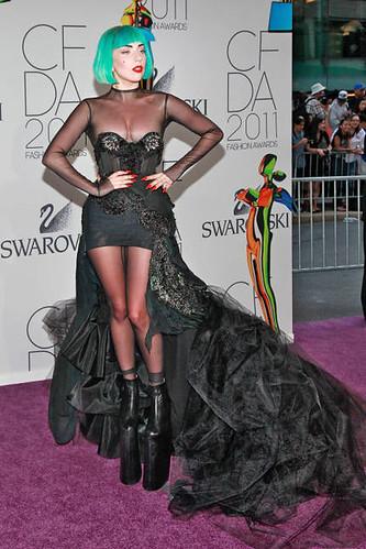 Lady Gaga vamps it up at Fashion Awards - Capital 52