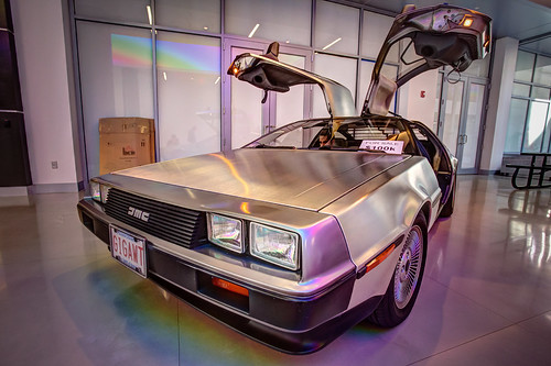 DeLorean photo