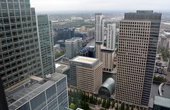 View from One Canada Square