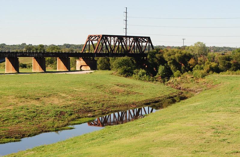1930 Texas & Pacific Railroad Bridge over Trinity River, Dallas, Texas 1309301032