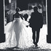Bride and Groom hand in hand by * MauriceEtoile.com