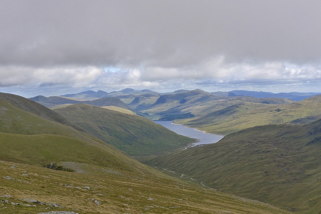 Lawers and Loch Lyon