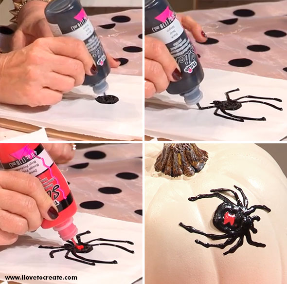 haunted halloween window clings step by step - Halloween Window Clings
