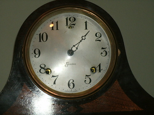 Sessions clock front