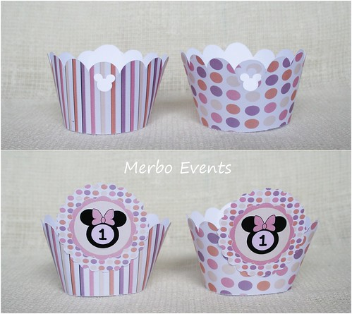 Kit minnie rosa Wrappers2 Merbo Events