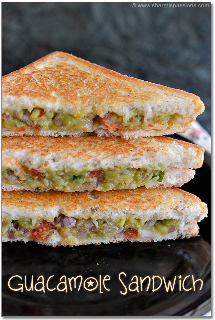 Avocado Bread Sandwich Recipe