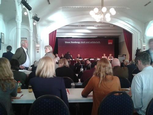 SPD Hamburg Klausur
