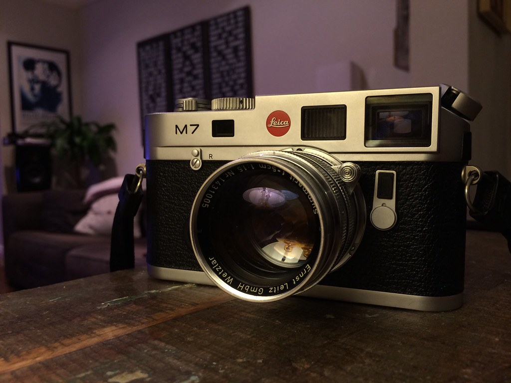 leica M7 with Summarit 50mm 1.5 ltm