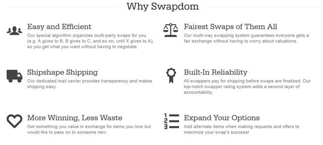 Swapdom - Shopping for FREE! - KaelahBee.com