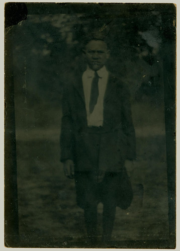 Tintype boy