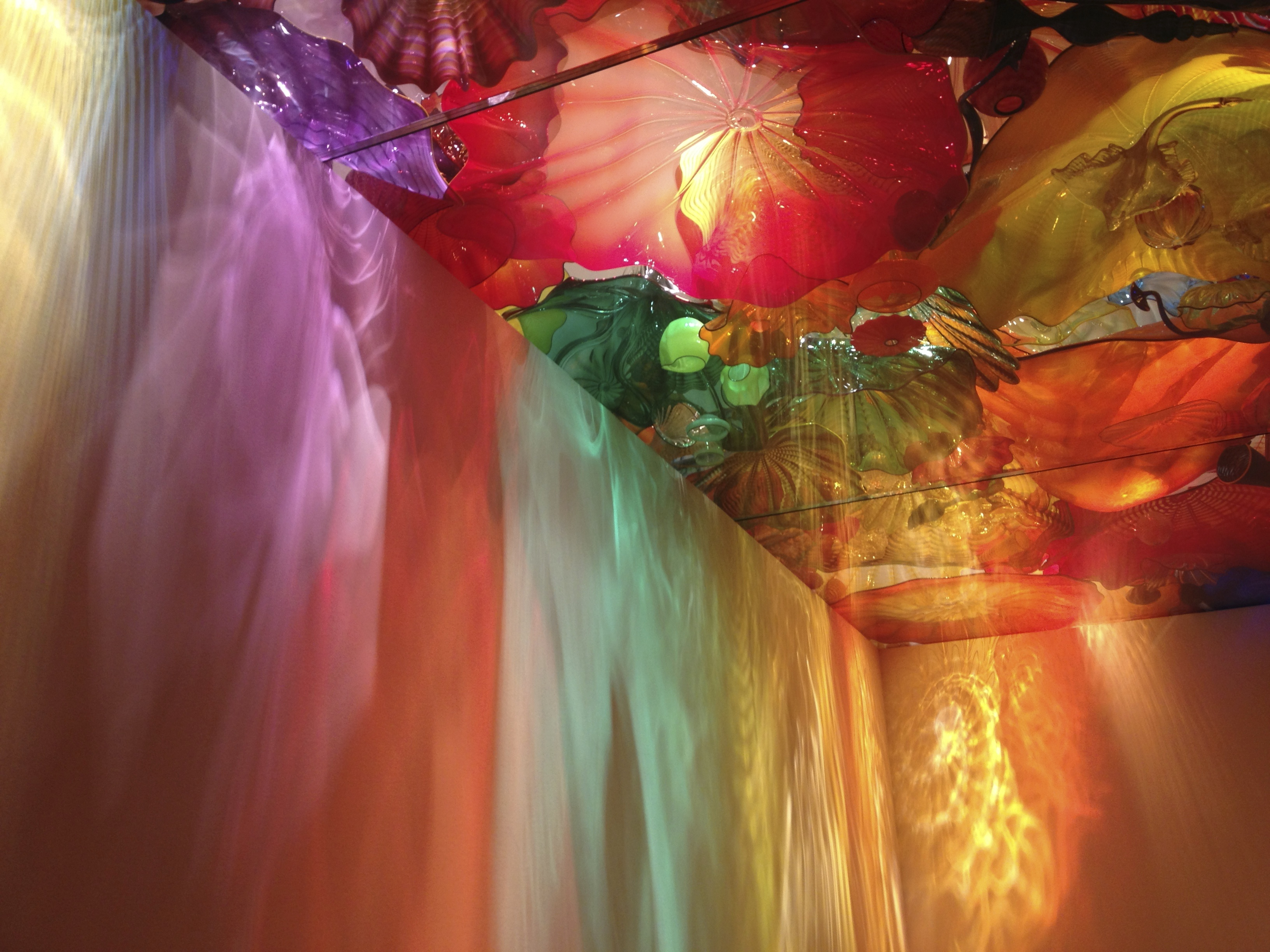 Dale Chihuly Museum Fines Arts Montreal