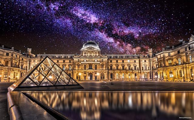 Milky Louvre