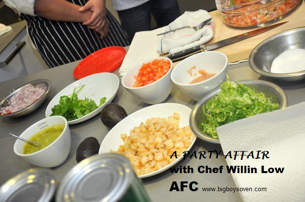 A PARTY AFFAIR with Chef Willin Low AFC 8