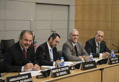 Aloizio Mercadante, Minister of Education, Brazil, visits the OECD.