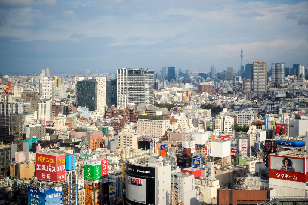 Shinjuku view | 新宿 エル・タワー 28Fから | Shinichiro Saka | Flickr
