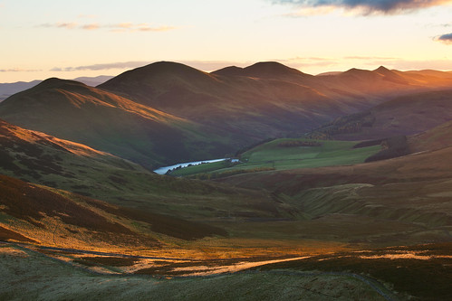Pentlands in Evening Light by svensl