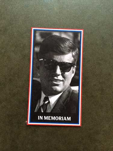 2013 SlangKo John F. Kennedy front