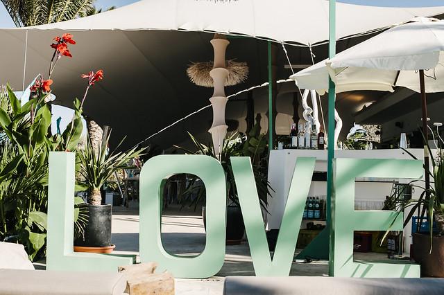 Atzaro Beach, Ibiza wedding venue