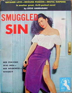 Smuggled Sin - Stallion Books - No 215 - Steve Harragan - 1954.